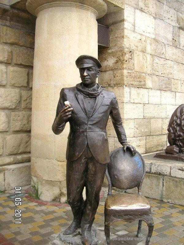 Скульптура Бендера в Пятигорске