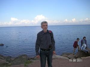 Санкт-Петербург. Петергоф. Финский залив