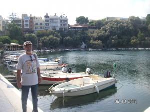 Crete-Agios Nikolaos  - озеро