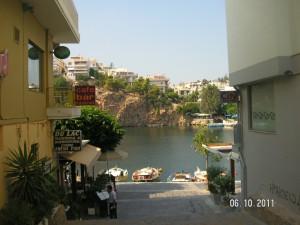 Crete-Agios Nikolaos-улицы