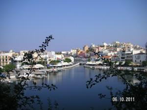 Crete-Agios Nikolaos-озеро