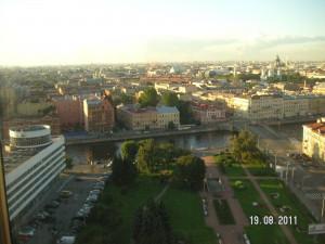 Петербург. Вид сверху