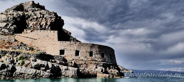 Остров Спиналонга история стоимость посещения часы работы