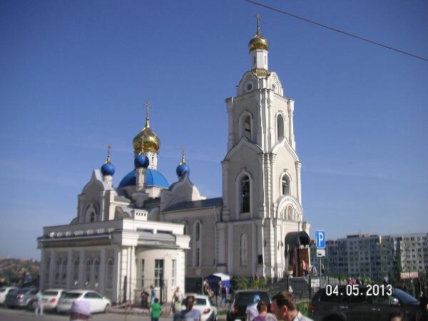Свято-Казанский храм - общий вид