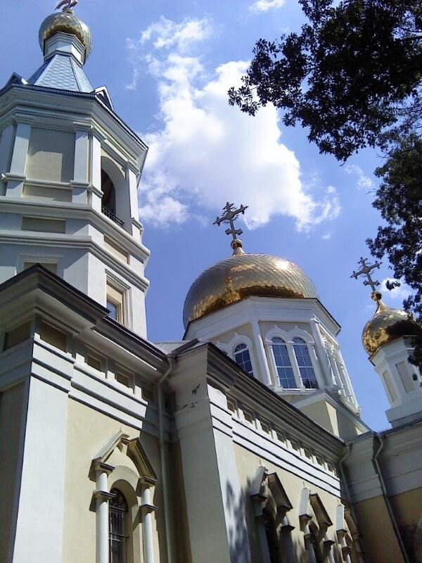 общий вид храма в Петровке