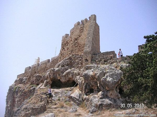 Античные развалины Линдоса