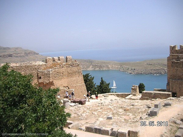 Бухта святого Павла на Родосе