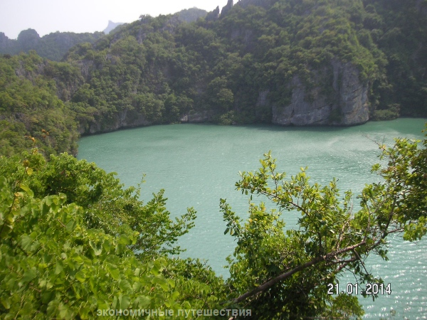 озеро на острове ko-mae-ko