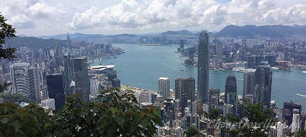 Пик Виктория в Гонконге  как добраться самостоятельно фото часы работы описание